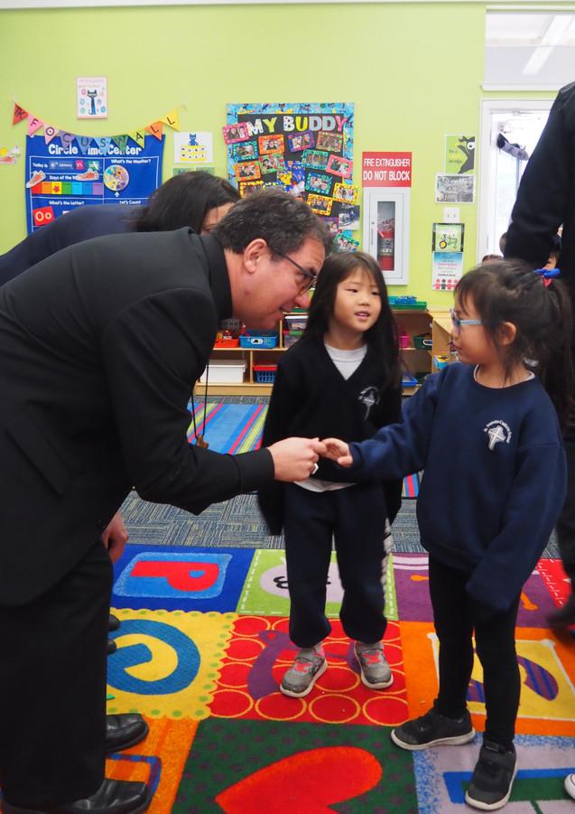Meeting Our Bishop!