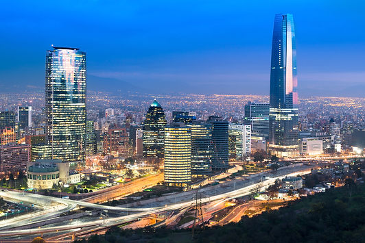 a view of Santiago, Chile