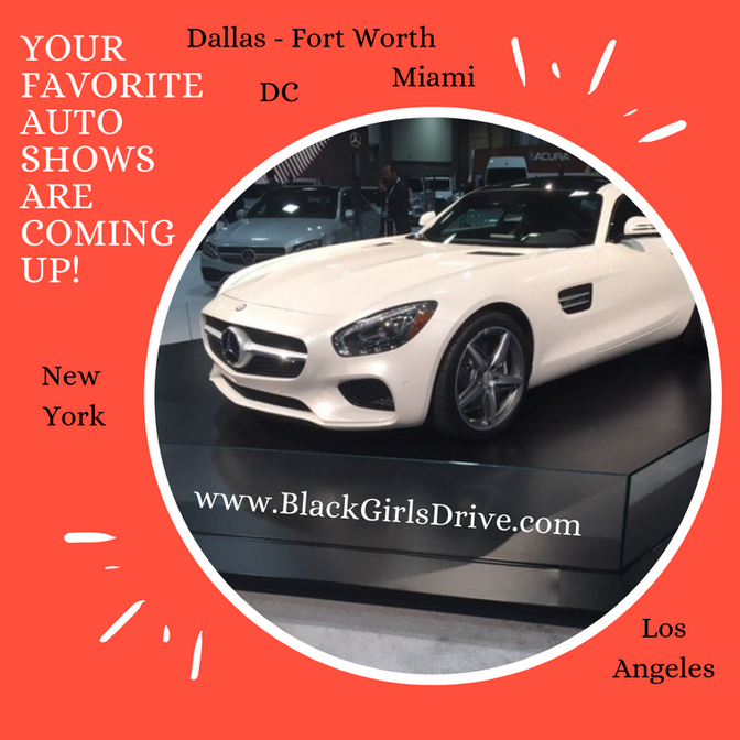 Your Favorite Auto Shows Are Coming Up!