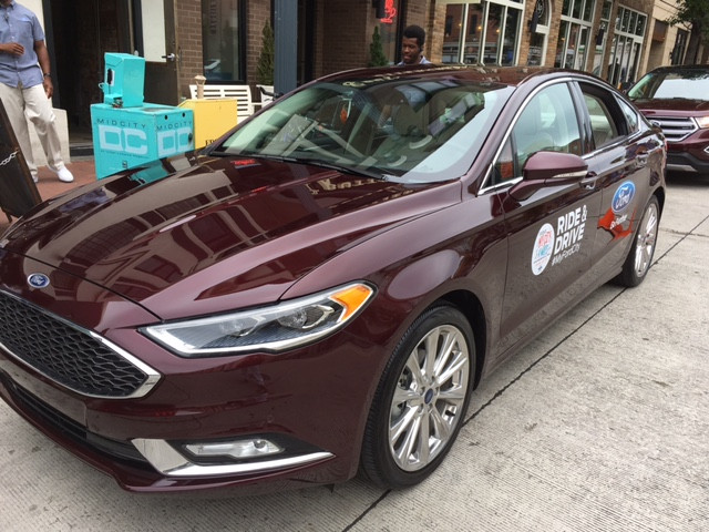 2017 FORD Fusion!