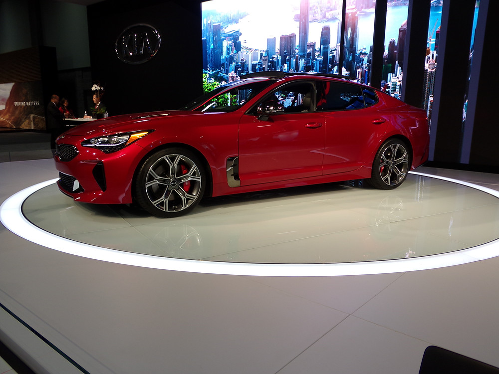 The 2018 Kia Stinger is ready for the road!
