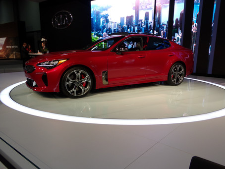 FYI...Fab New Sports Car:  Kia Stinger!