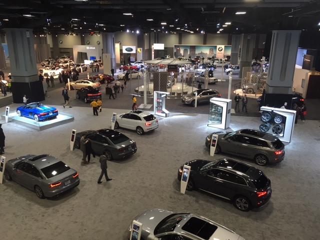 Lower Level of the 2019 Washington Auto Show!