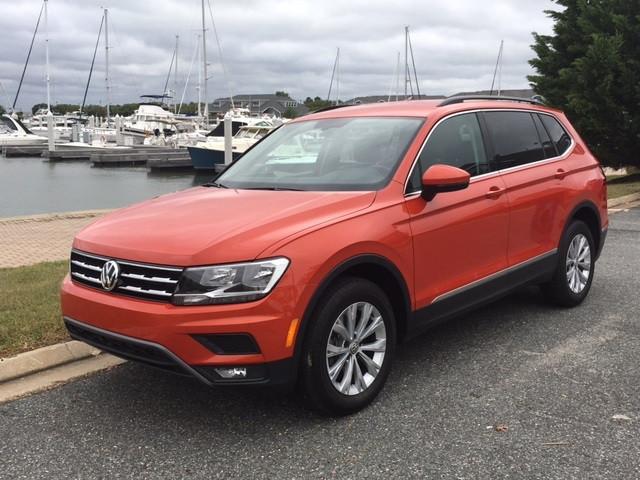 2018 Volkswagen Tiguan!