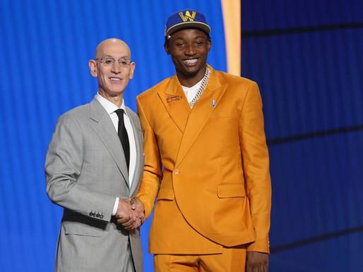 And Just like that Jonathan Kuminga is The STEAL of the NBA Draft