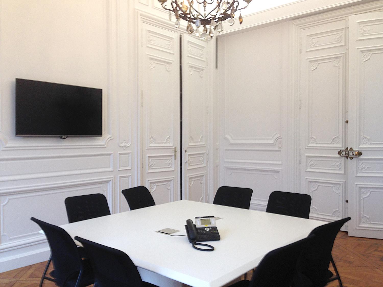 Salle de réunion Haussmanienne