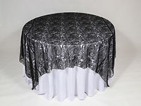 Paisley-Lace-Black-90x90-over-Dupioni-Wh