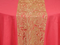 Paisley-Lace-Gold-over-Dupioni-Watermelo