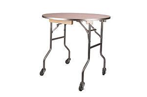 Caster-Wheels-on-36-Inch-Round-Banquet-T