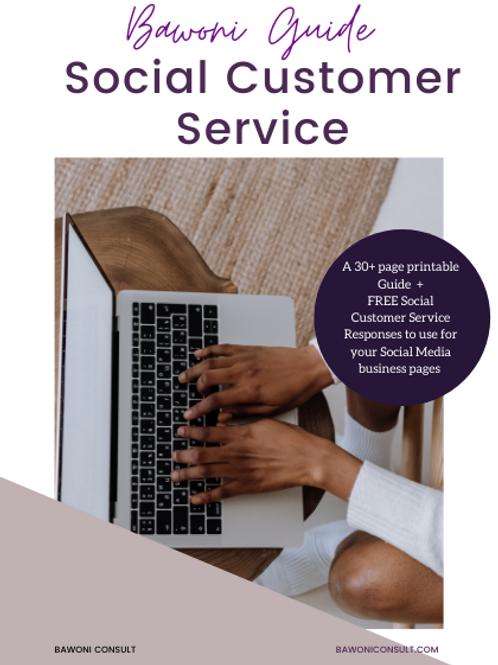 Social Customer Service Guide