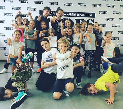 Семинар музыкальности в школе танца Todes