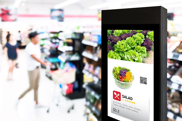 Intelligent Digital Signage , Augmented