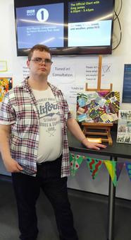 Alex his award winning piece of work!