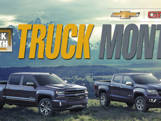 Truck Owners and Truck Shoppers Are Now Invited To Seaway GM For The Annual Truck Month Event