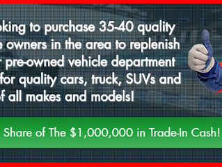 """Seaway Chevrolet Buick GMC Offers Cornwall and SD&G County Vehicle Shoppers """"Pit-Stop-Style"""