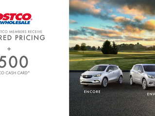 Seaway GM invites all Cornwall COSTCO Eligible Members To Get Preferred Pricing On Select New 2019 G
