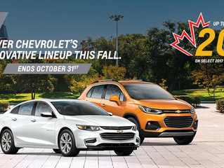 Cornwall Vehicle Shoppers Can now Buy A New Chevrolet Buick or GMC and Get up to 20% of MSRP in Cash