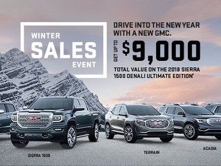 Seaway GM launches the GM Winter Sales Event in Cornwall