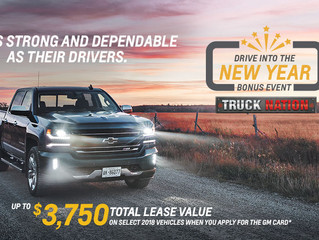 Seaway GM Offers Cornwall Vehicle Owners A Way To Drive into the New Year With More Money