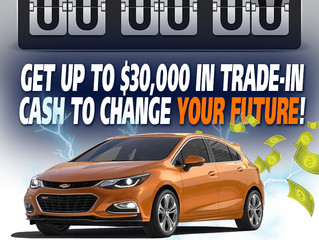 Cornwall Vehicle Owners Get up to $30,000 in Trade-in Cash For Their Current Vehicle So They Can Era