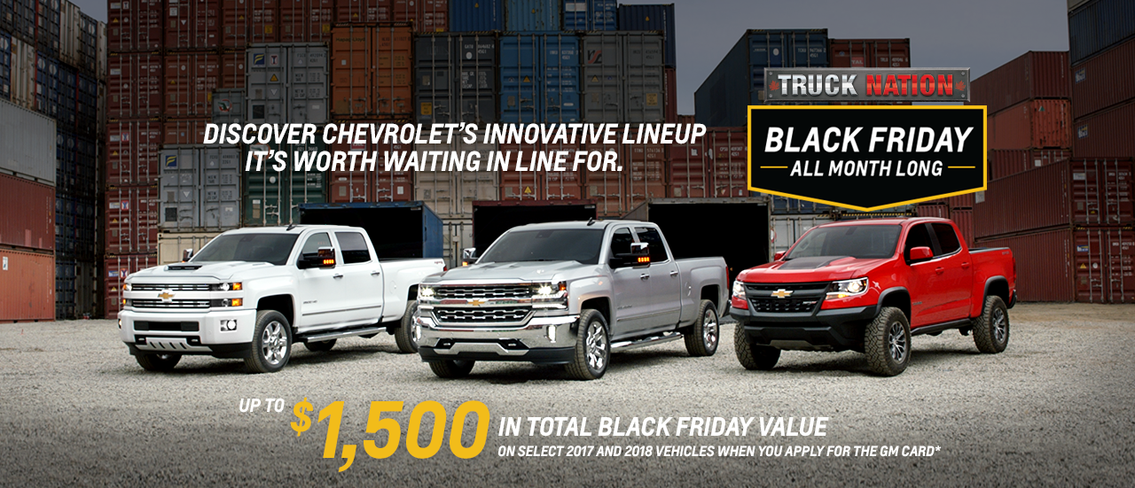 Gm Black Friday All Month Long Promotions And Specials In Cornwall Seaway S Automotive Blog The Valley