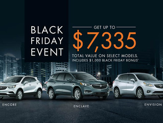 Black Friday Deals On All new 2018 Chevrolet Buick and GMC in Cornwall