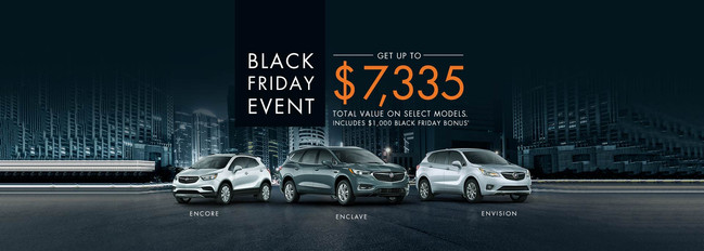 Black Friday Deals On All New 2018 Chevrolet Buick And Gmc