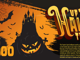 Take the Halloween October Challenge at Seaway GM And Get up to $30,000 in Trade-in Cash