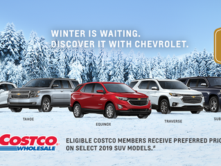 Seaway GM COSTCO Preferred Pricing And $500 Cash Card