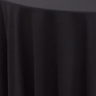 Wrinkle free polyester Black
