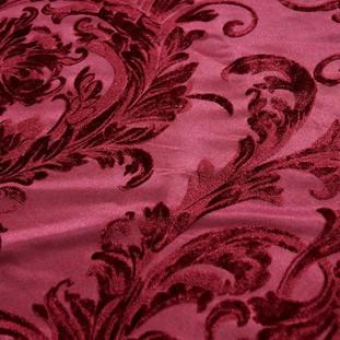 Victorian Velvet Burgundy