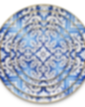 Wholesale-vintage-12-inch-blue-and-white
