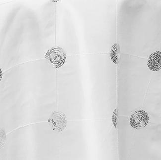 Sequins Dot White