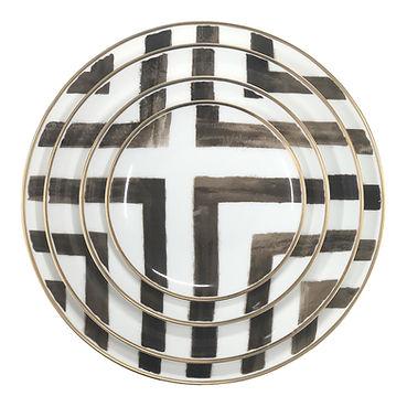 JY-Ceramic-modern-design-stripe-dinnerwa