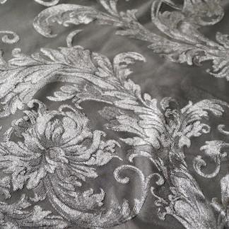 Victorian velvet Silver
