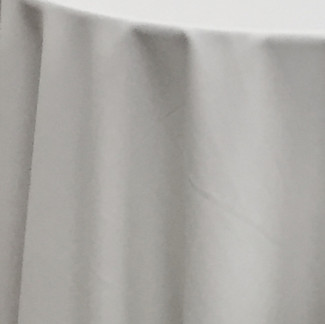 Wrinkle Free Polyester White