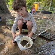 Elon playing in the watery sandbox