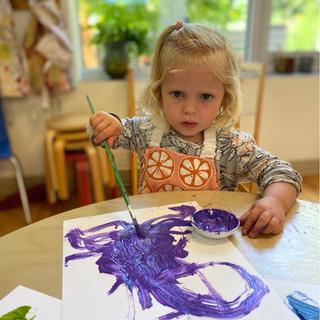 Naomi painting