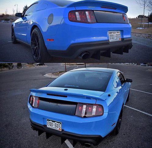2011-2012 Mustang GT Diffuser Kit