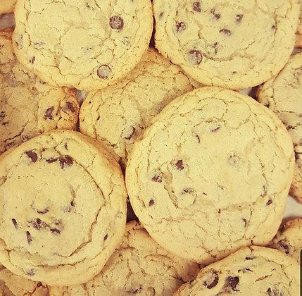 1/2 dz chocolate chip cookies