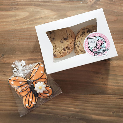 Butterfly and 1/2dz Chocolate Chip