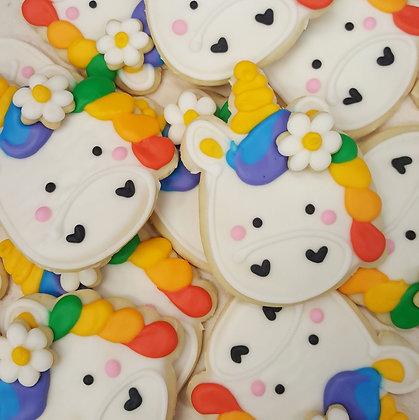 1 dz Unicorn Cookies