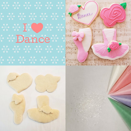 DYO Cookie Kit, I ❤ Dance