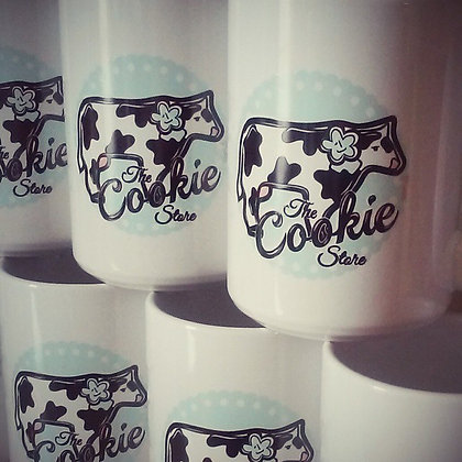 The Cookie Store 15 oz Coffee Mug (Cow Cookie)