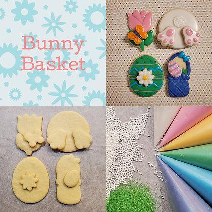 DYO cookie kit, Bunny Basket