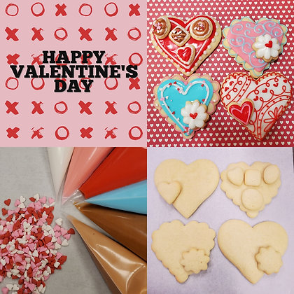 Happy Valentine's Day DYO Cookie Kit