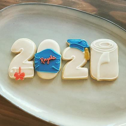 2020 grad cookies