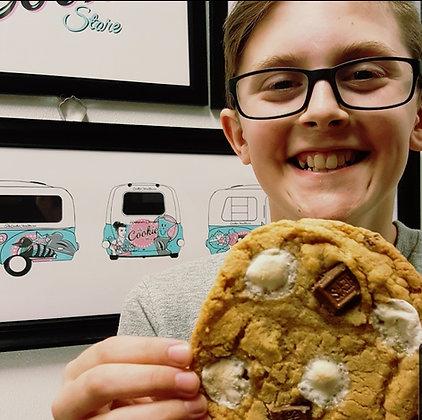 1/2 dz S'mores cookies