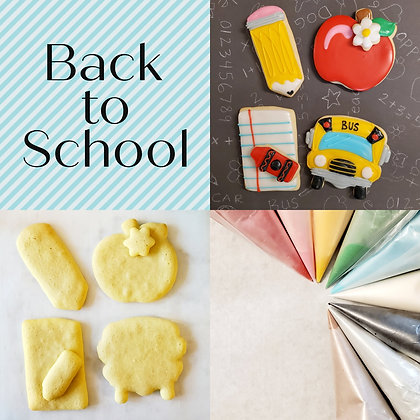 DYO Cookie Kit, Back to School