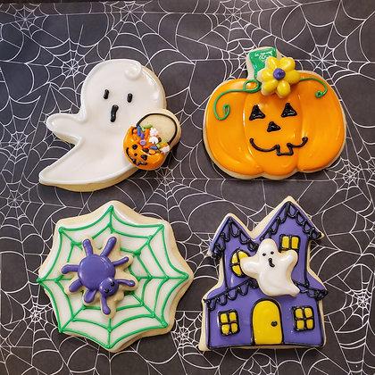 Halloween cookies, 1 dozen
